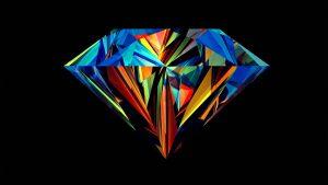 Первая половина кристалла