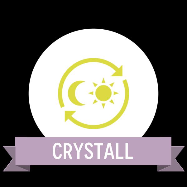 Создание первой половинки энергетического кристалла