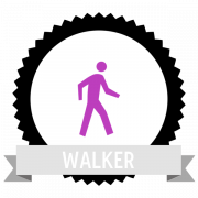 "Значок значка ""Walking(250)"", предоставленный The Noun Project под The symbol is published under a Public Domain Mark"
